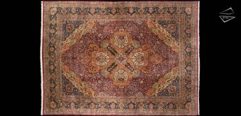 14x19 Persian Cyrus Crown Kerman