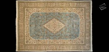 13 x 19 Persian Cyrus Crown Tabriz Rug