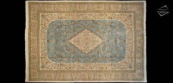 13 x 19 Persian Cyrus Crown Tabriz Rug