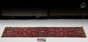 3x10 Persian Dargezine Rug Runner