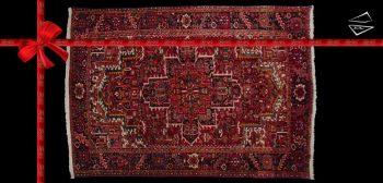 8x11 Persian Gorevan Rug