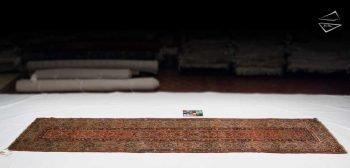 3x14 Persian Hamadan Rug Runner