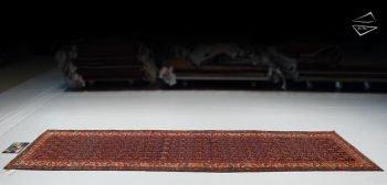 4x13 Persian Hamadan Rug Runner
