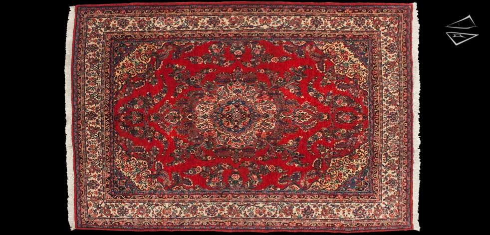 8x12 Persian Hamadan Rug