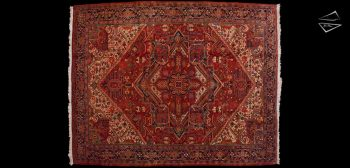 10x14 Persian Heriz Rug