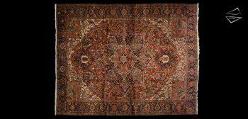 11x14 Persian Heriz Rug