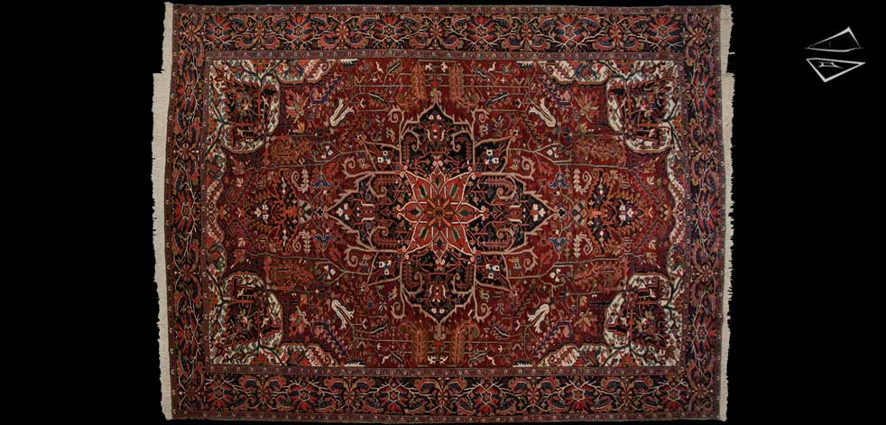 12x16 Persian Heriz Rug