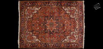 9x12 Persian Heriz Rug