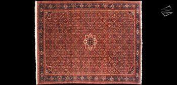 8x12 Persian Hoseinabad Rug