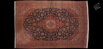 10x15 Persian Kashan Rug