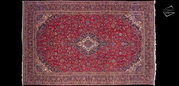11x17 Persian Kashan Rug