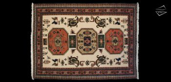 11x15 Persian Katbaft Rug