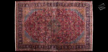 14x21 Persian Kazvin Rug