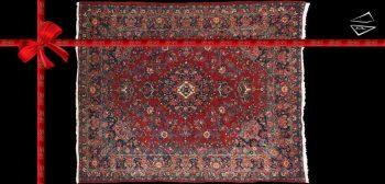 8x10 Persian Kazvin Rug