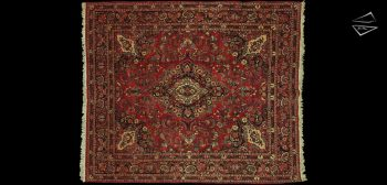 10x12 Persian Kazvin Square Rug
