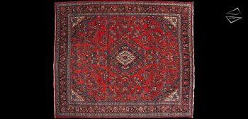 11x13 Persian Kazvin Square Rug