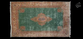 10x16 Persian Kerman Rug