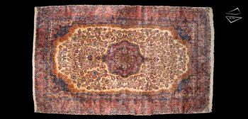 11x19 Persian Kerman Rug