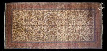 11x23 Persian Kerman Rug