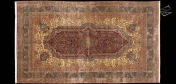 12x21 Persian Cyrus Crown Kerman Rug