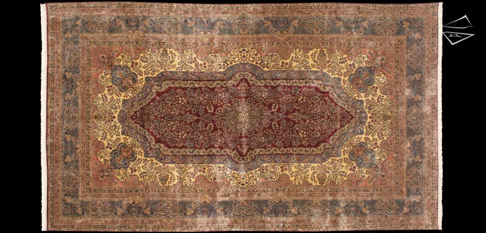 12x21 Persian Cyrus Crown® Kerman Rug