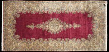 12x24 Persian Kerman Rug