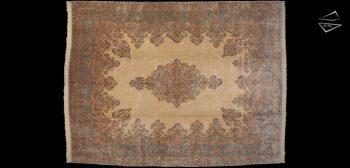 13x17 Persian Kerman Rug