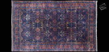 13x21 Persian Kerman Rug