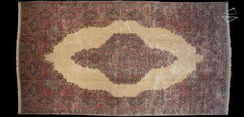 13x24 Persian Kerman Rug