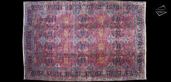 16x29 Persian Kerman Rug