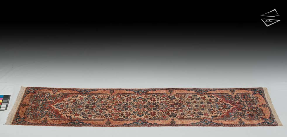 "2'6""x11 Persian Kerman Rug Runner"