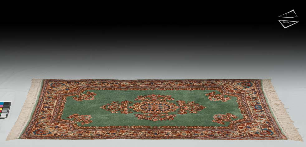 3x6 Persian Kerman Rug Runner