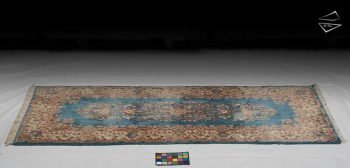4x10 Persian Kerman Rug Runner