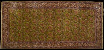 7x15 Persian Kerman Rug