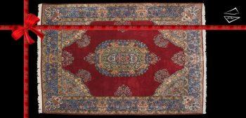 9x13 Persian Kerman Rug