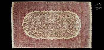 9x15 Persian Kerman Rug