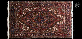 6x10 Persian Mehrivan Rug