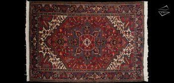 7x10 Persian Mehrivan Rug