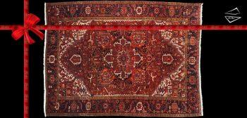 8x11 Persian Mehrivan Rug