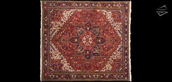 11x12 Persian Mehrivan Square Rug