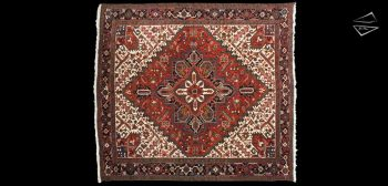 11x12 Persian Mehrivan Rug