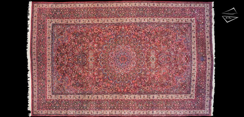 12x19 Persian Meshed Rug