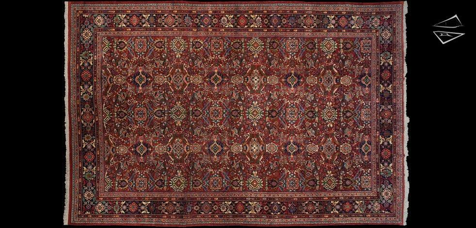 11x18 Persian Meshkabad Rug