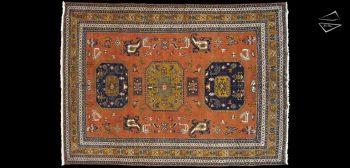 11x15 Persian Meshkin Rug