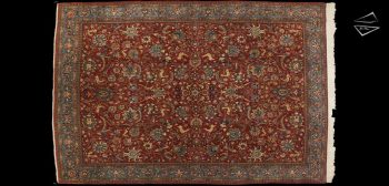 10x15 Persian Qum Rug