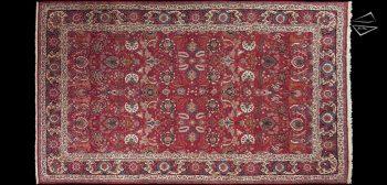 10x17 Persian Qum Rug