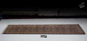 3x13 Persian Qum Rug Runner