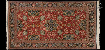 5x9 Persian Qum Rug