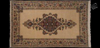 6x10 Persian Qum Rug