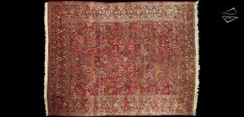 10x13 Persian Sarouk Rug